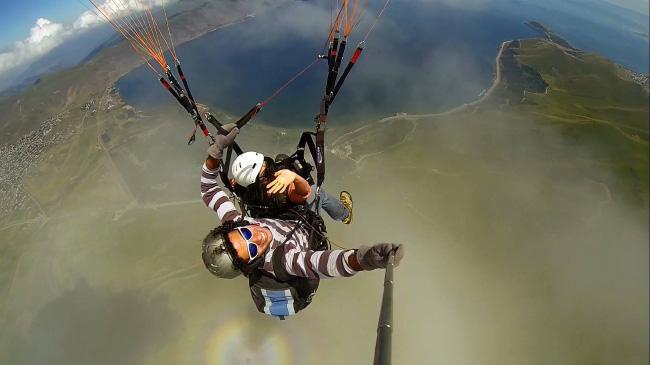Paragliding-in-Armenia-Lake-Sevan