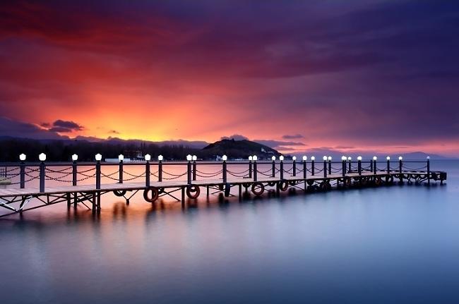 Sunrise-on-shores-of-Lake-Sevan