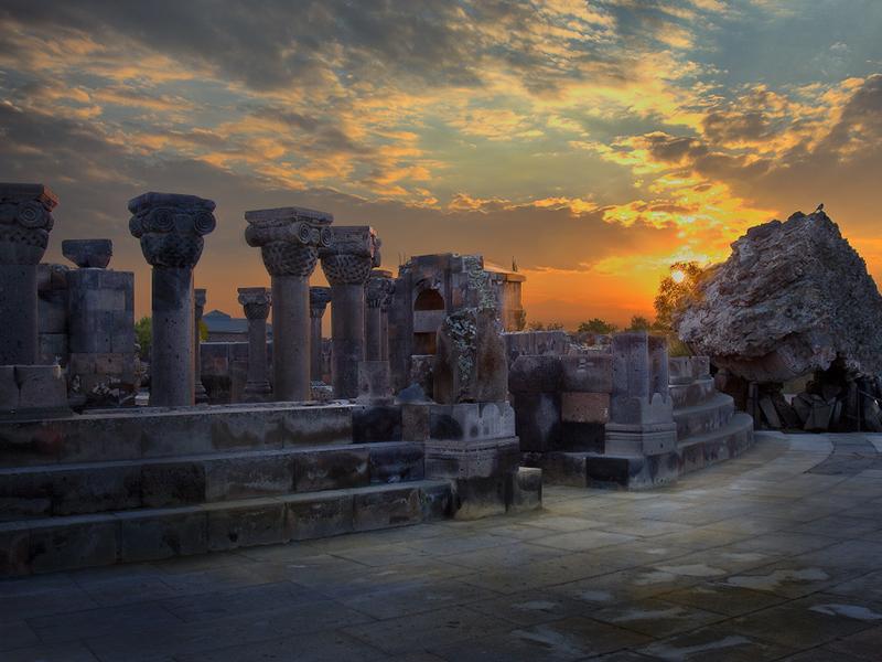 Zvartnots-Temple