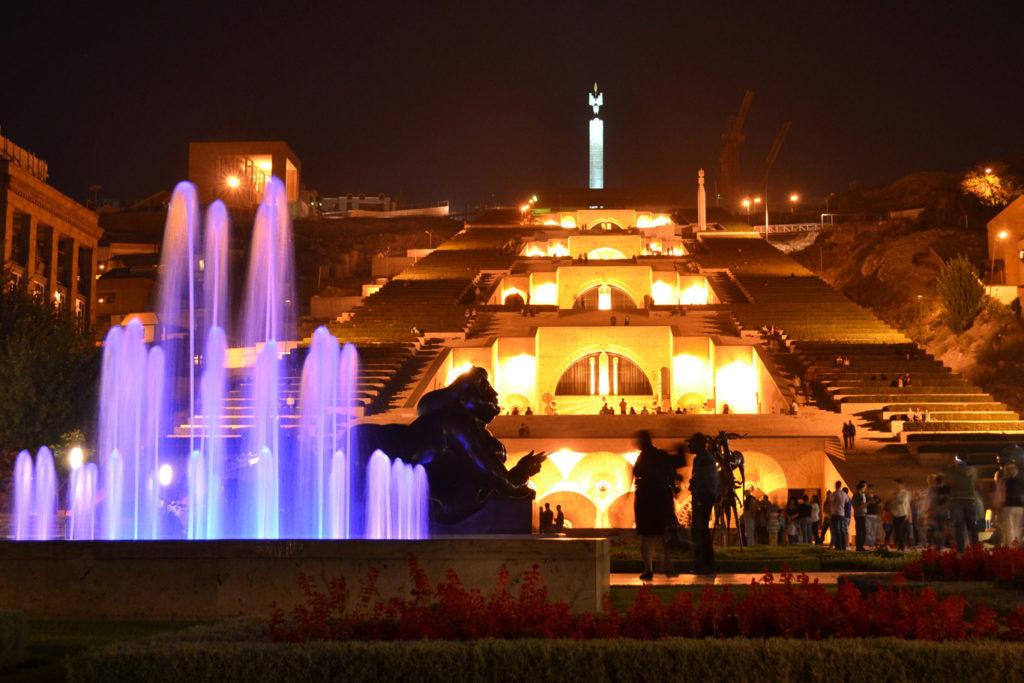 night-yerevan