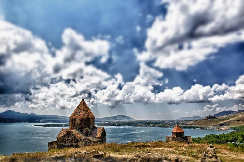 Sevanavank monastery,  Lake Sevan, Gegharkunik Province, Armenia